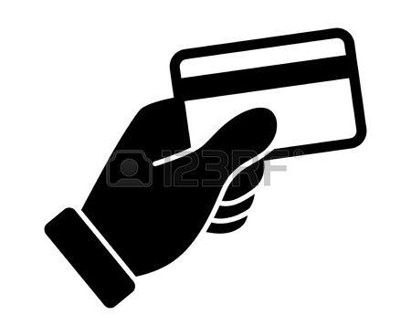 Credit card swipe clipart.