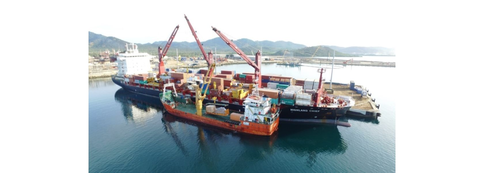 Swire beefs up PNG shipping.