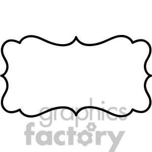 lines frame swirls boutique sign design border vector.
