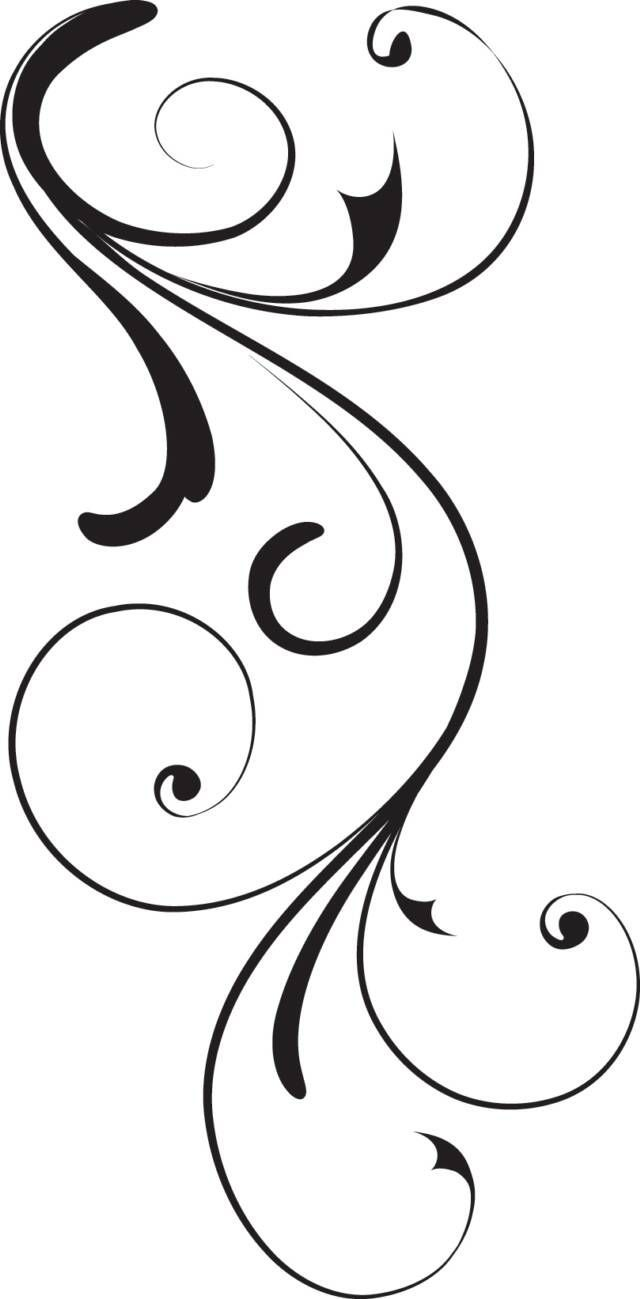 Heart swirls clipart free clipart images.
