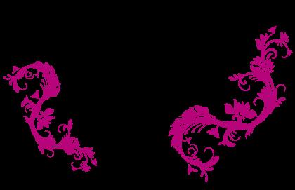 Swirls Transparent Background.