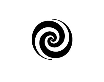 Simple Swirls Clipart.