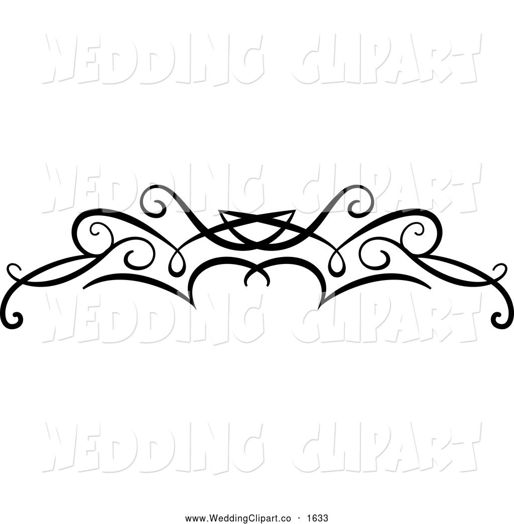 Free Black And White Swirls Clipart.