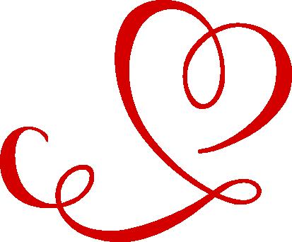 swirl heart svg.