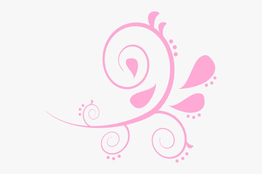 Pink Swirl Clipart , Transparent Cartoon, Free Cliparts.