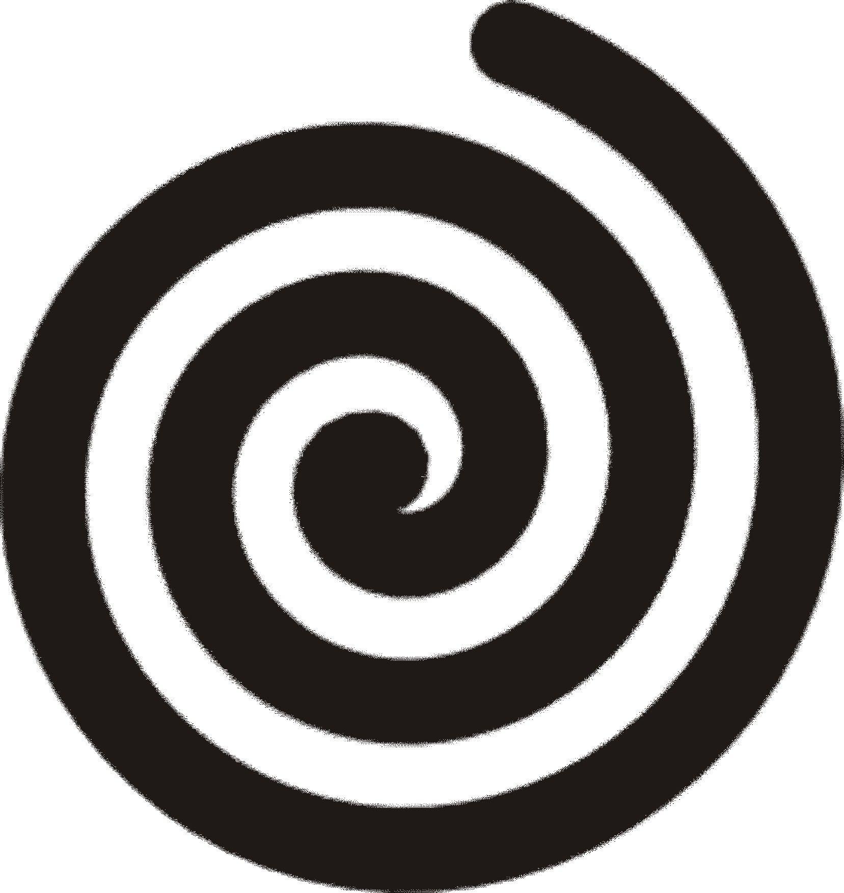 Circle Swirl Clipart.