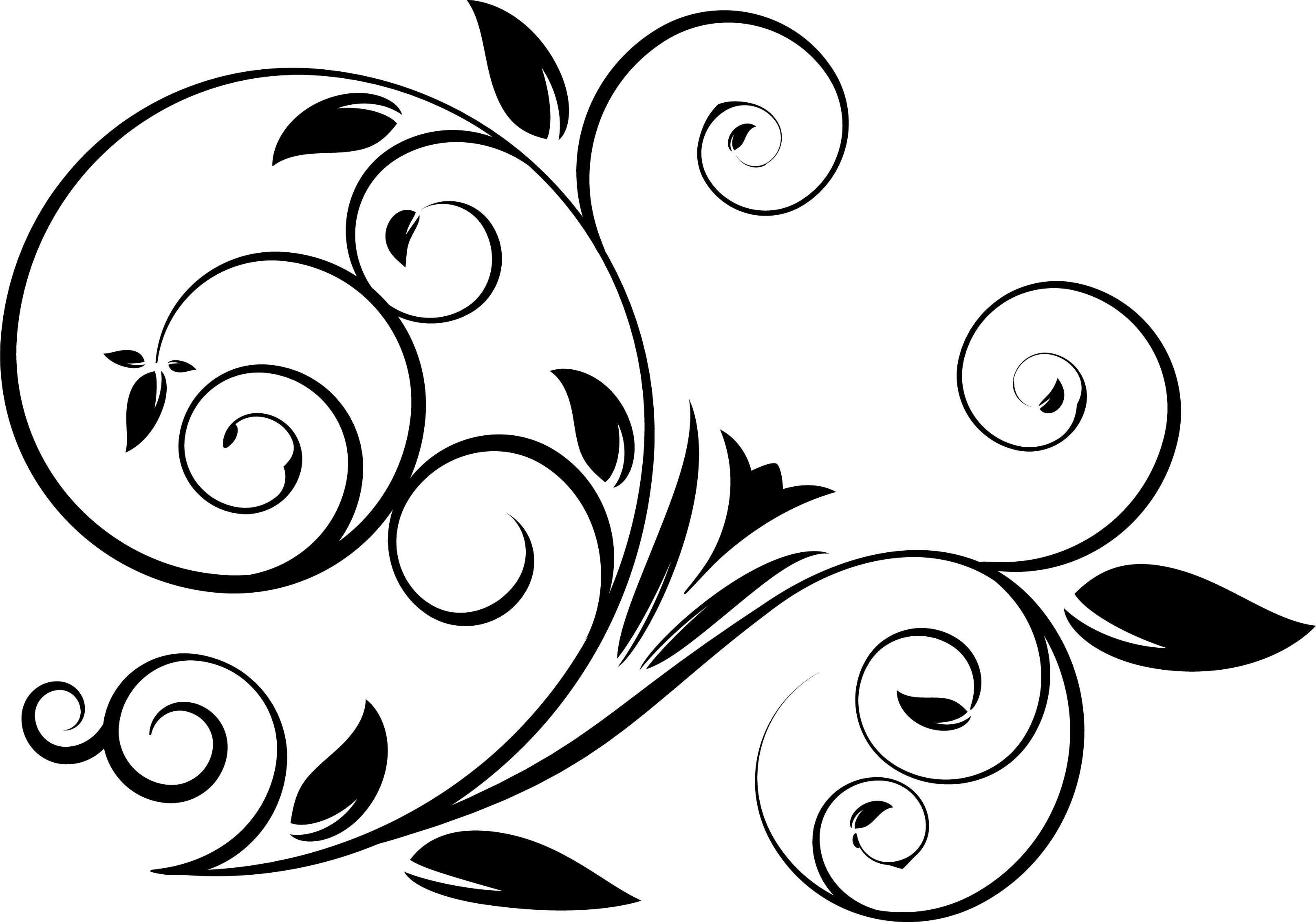 5 Swirl Vectors Svg Dxf Png Jpg Eps vector file Cut Files.