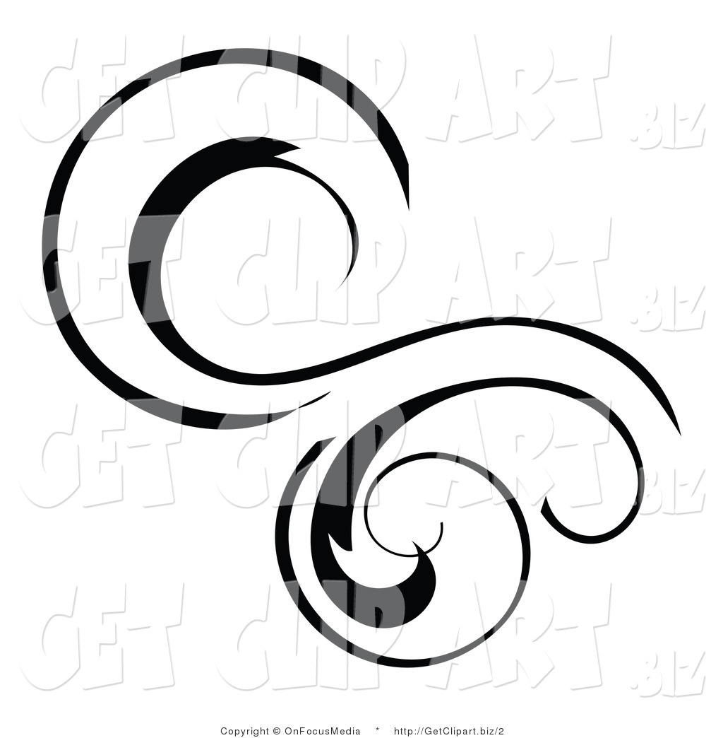 swirl clipart black swirls clipart clip art of a black solid lined.