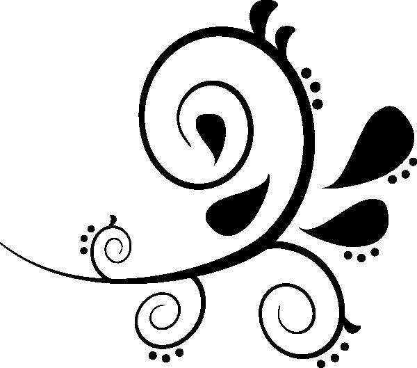 Swirl Pattern Clipart.