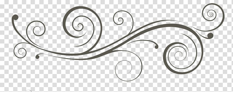 Black scroll , , Swirls transparent background PNG clipart.