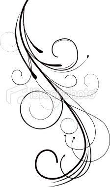 Swirls and Twirls Tattoos.