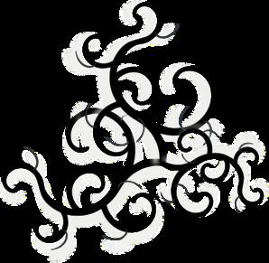 Swirls And Twirls Clipart.