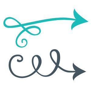 Swirly arrow clipart » Clipart Portal.