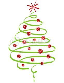 19 Swirly Christmas Tree Graphics Free Images.
