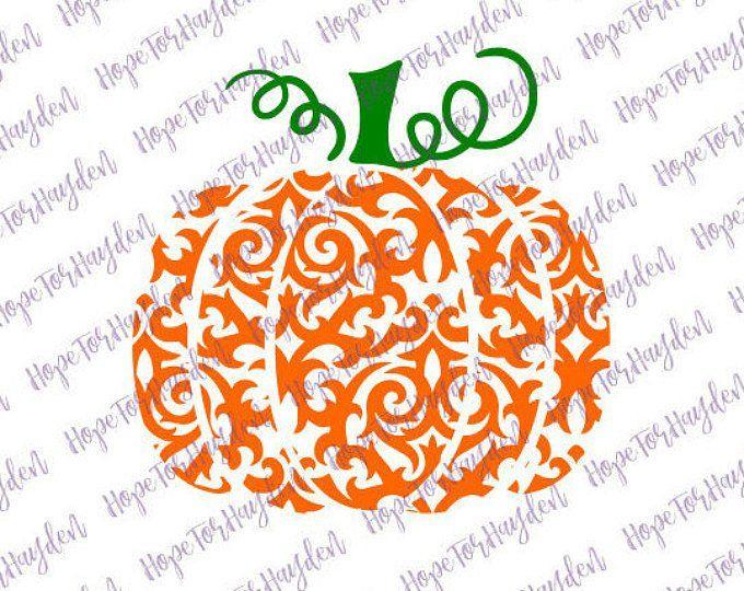 Pumpkin SVG Swirly Pumpkin SVG Pumpkin SVG File.