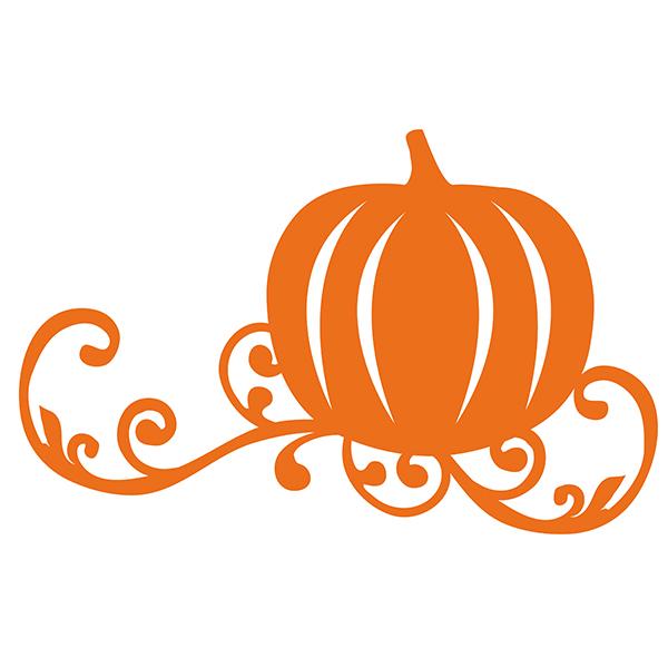 Swirl Pumpkin Clipart.