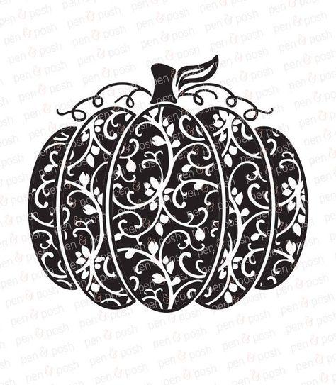 Pumpkin SVG.