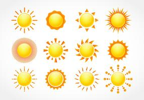 Sun Free Vector Art.