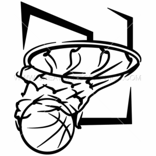 Basketball Net Swish Clip Art Png.
