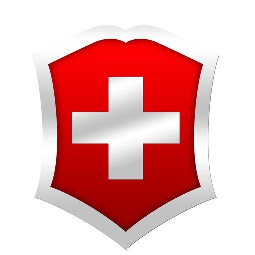 Swiss Army Knife Logo.