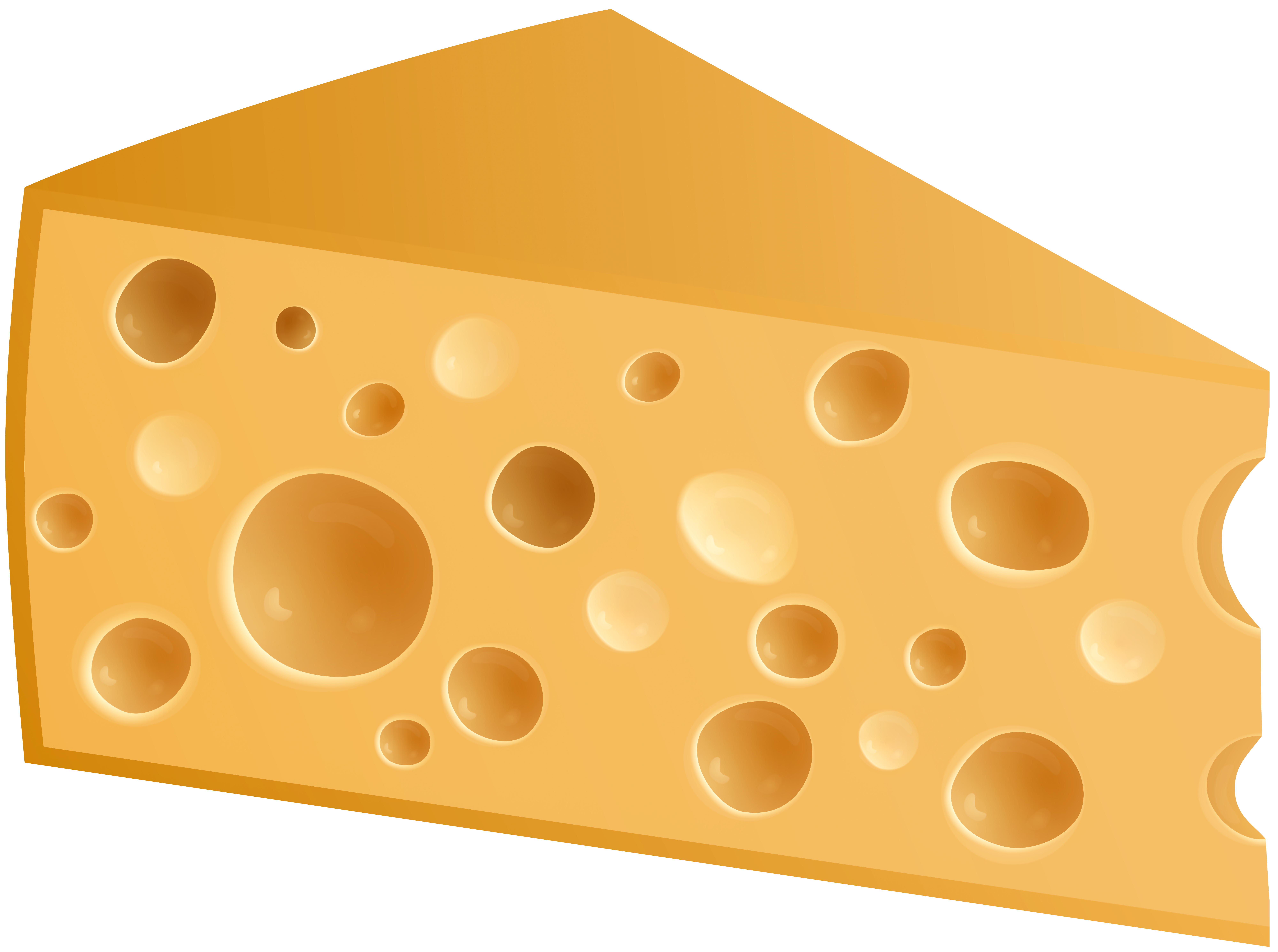 Swiss Cheese PNG Clip Art.