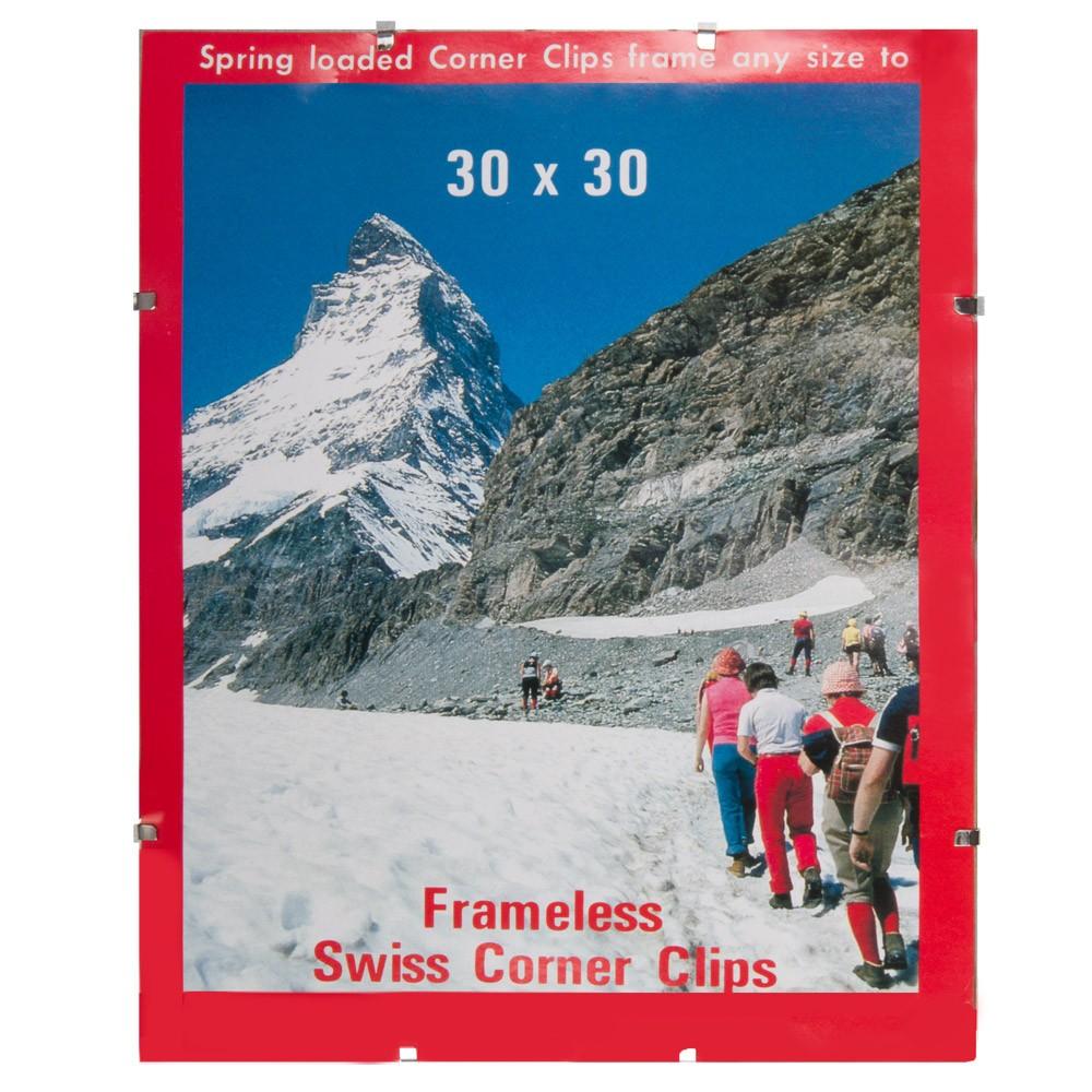 Swiss Corner Clips.