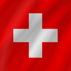 Switzerland flag image.