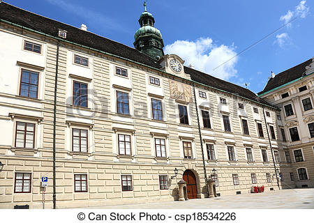 Stock Photo of Amalienburg Hofburg Wien.