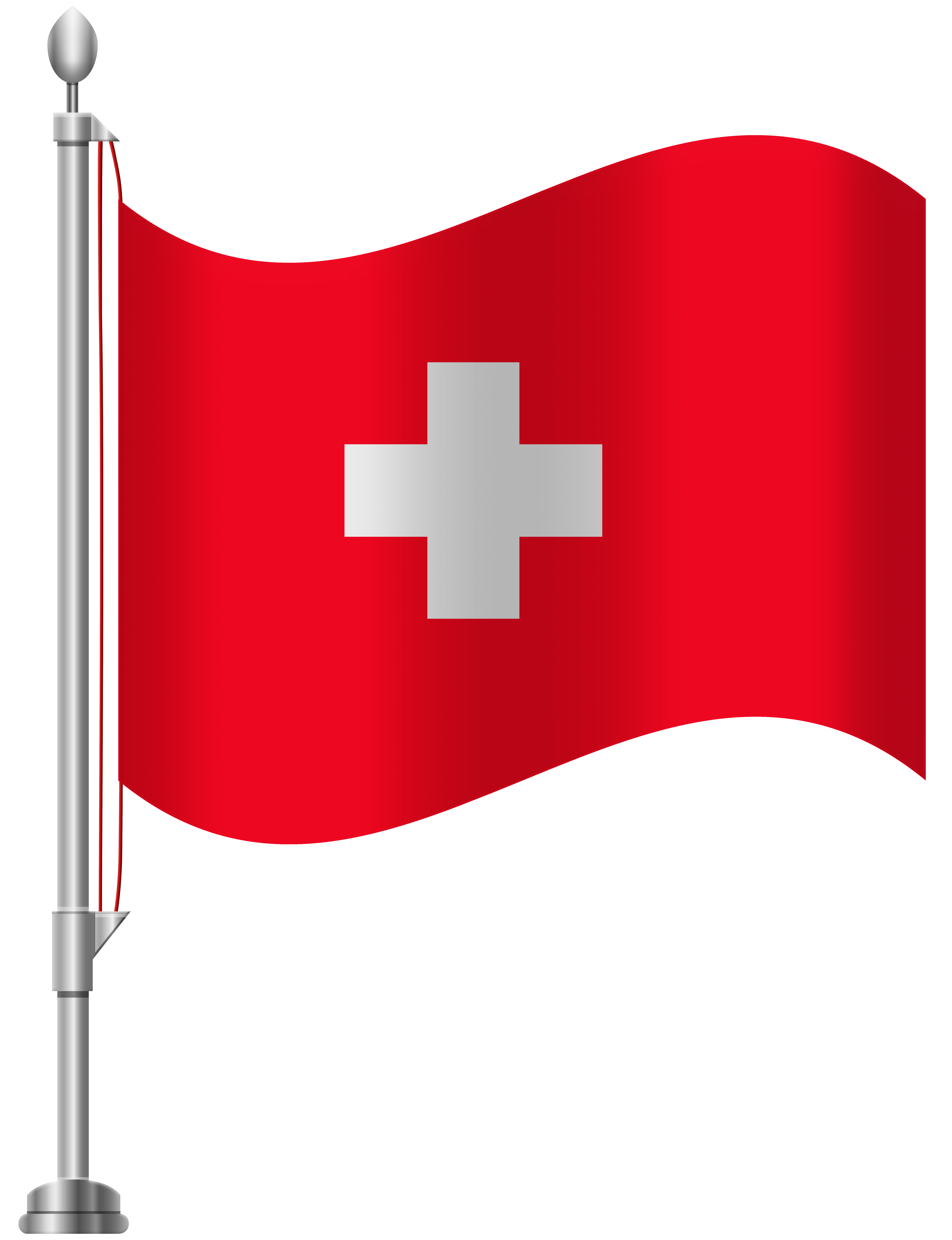 Switzerland Flag PNG Clip Art.