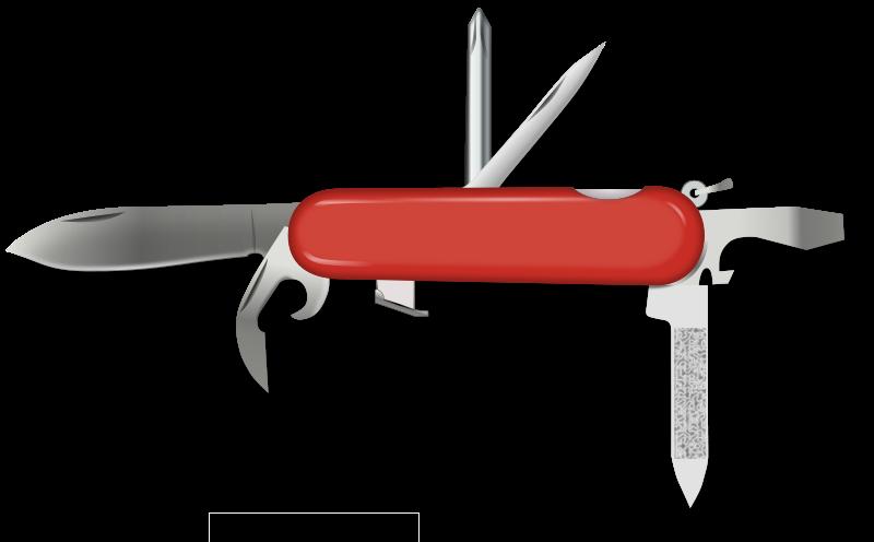 Swiss Knife Clip Art Download.