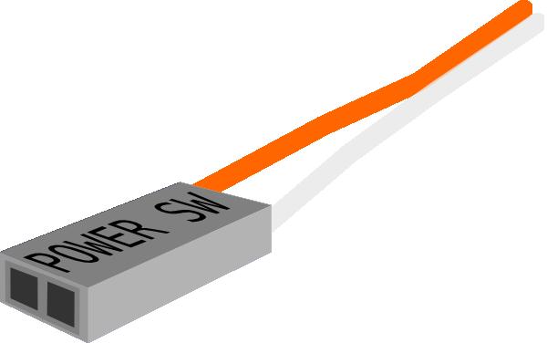 Power Switch Plug clip art Free Vector / 4Vector.
