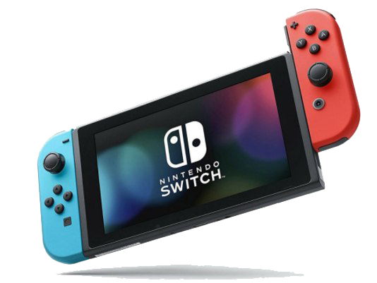 Nintendo Switch PNG Download Image.