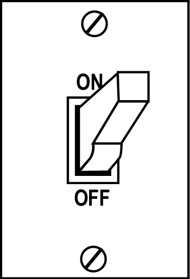 On Off Switch Clipart.