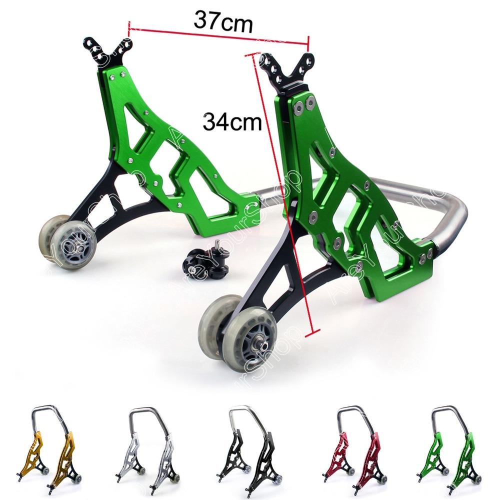 Sale 5 Colors Motorcycle Rear CNC Swingarm Lift 8mm Spools Slider.