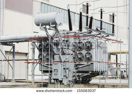 Highvoltage Substation Switch Stock Photos, Royalty.