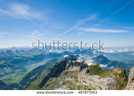 Switzerland Landscape Stock Photos, Royalty.