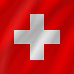 Switzerland flag clipart.