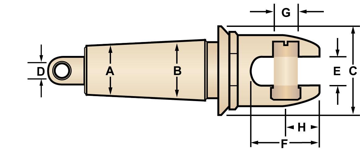 Condux Swivel Head Innerduct Pulling Eye.