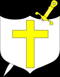 Sword and Bible Clip Art.