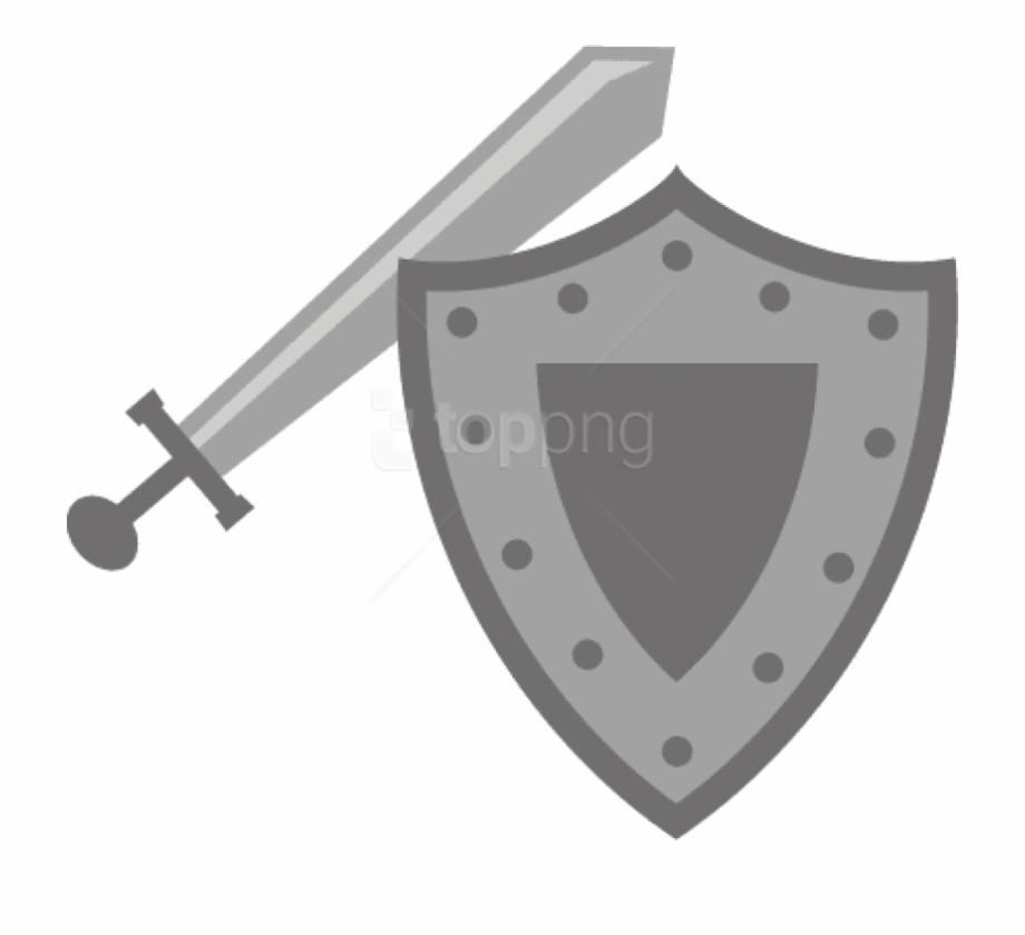 Image With Transparent Background Sword And Shield Clipart.