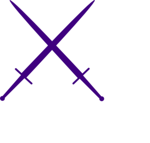 Purple Swords Clip Art at Clker.com.