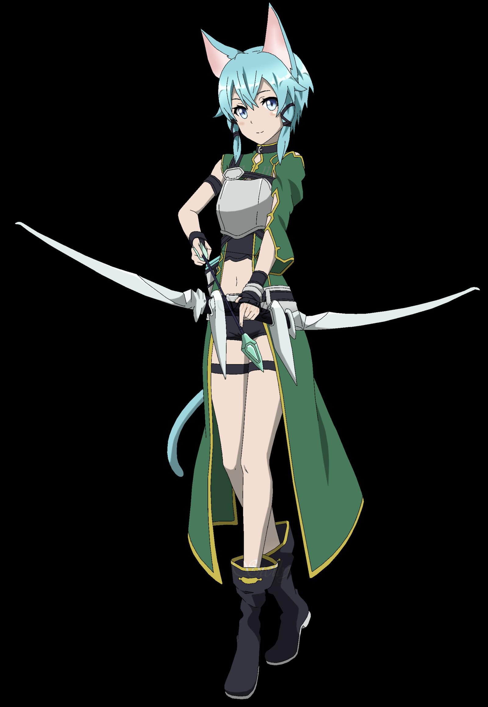 sword art online sinon.