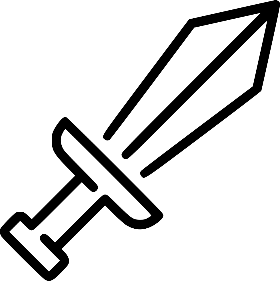 Sword Svg Png Icon Free Download (#539745).