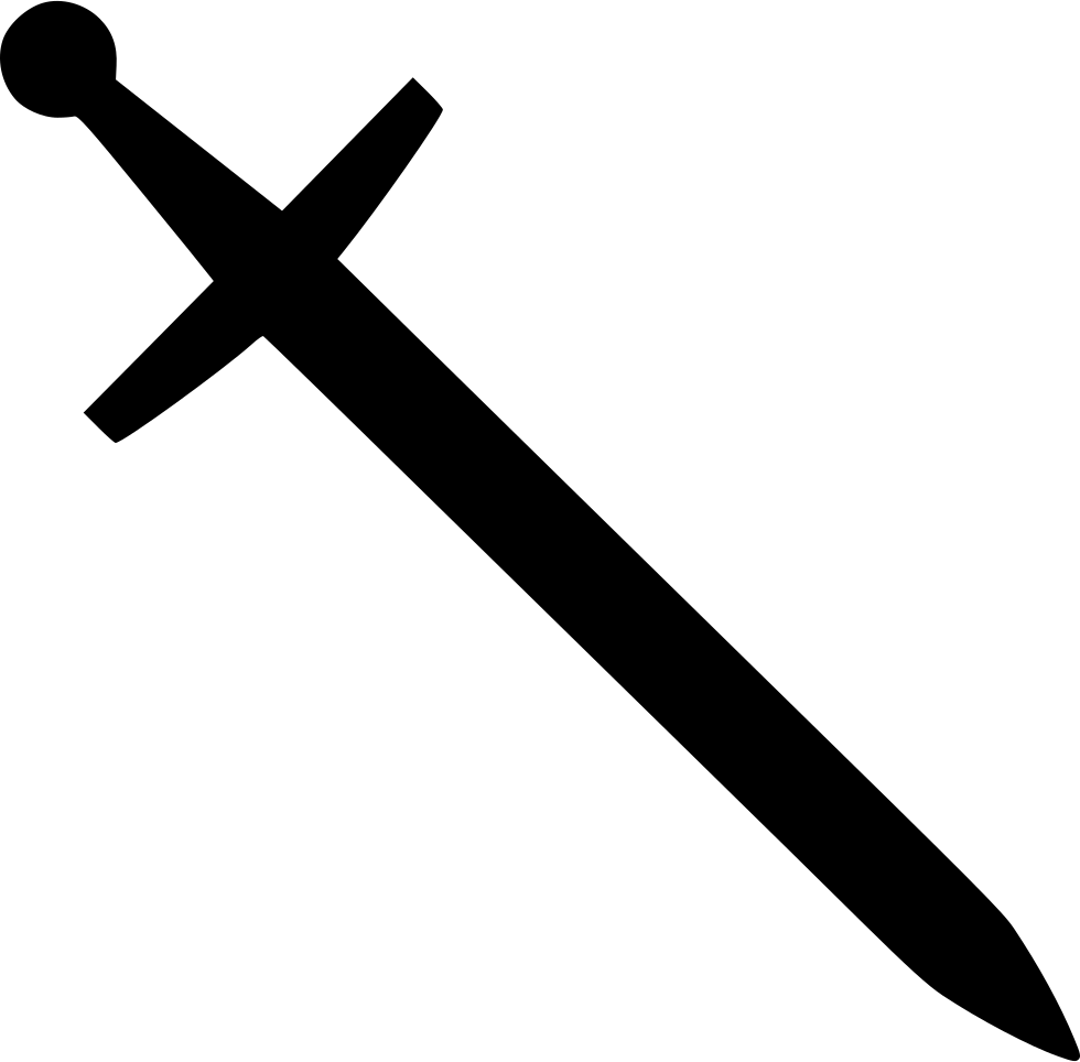Sword Blade Knight Classic Svg Png Icon Free Download.