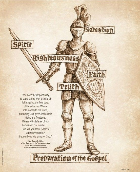 Armor of God (New Era 6/13) #LDS #ldsseminary.