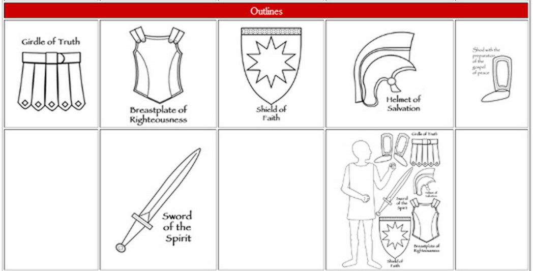Armor of God Sword Free LDS Clipart.