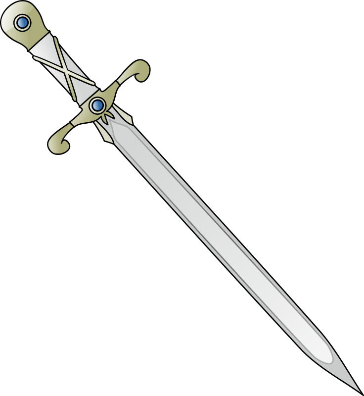 Download And Use Sword Png Clipart #19413.