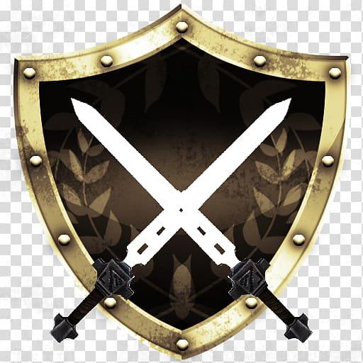 Infinity Blade II Sword, Sword Shield Background transparent.