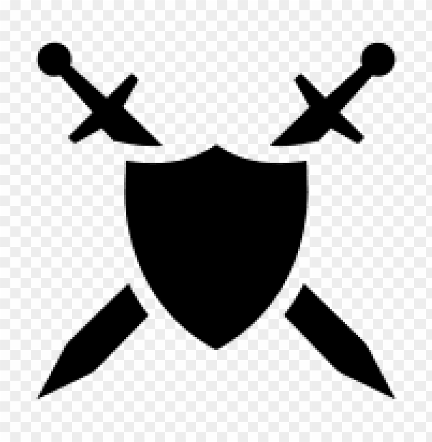 sword and shield png PNG image with transparent background.