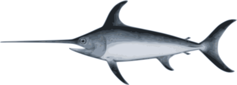 Free Clipart: Swordfish.